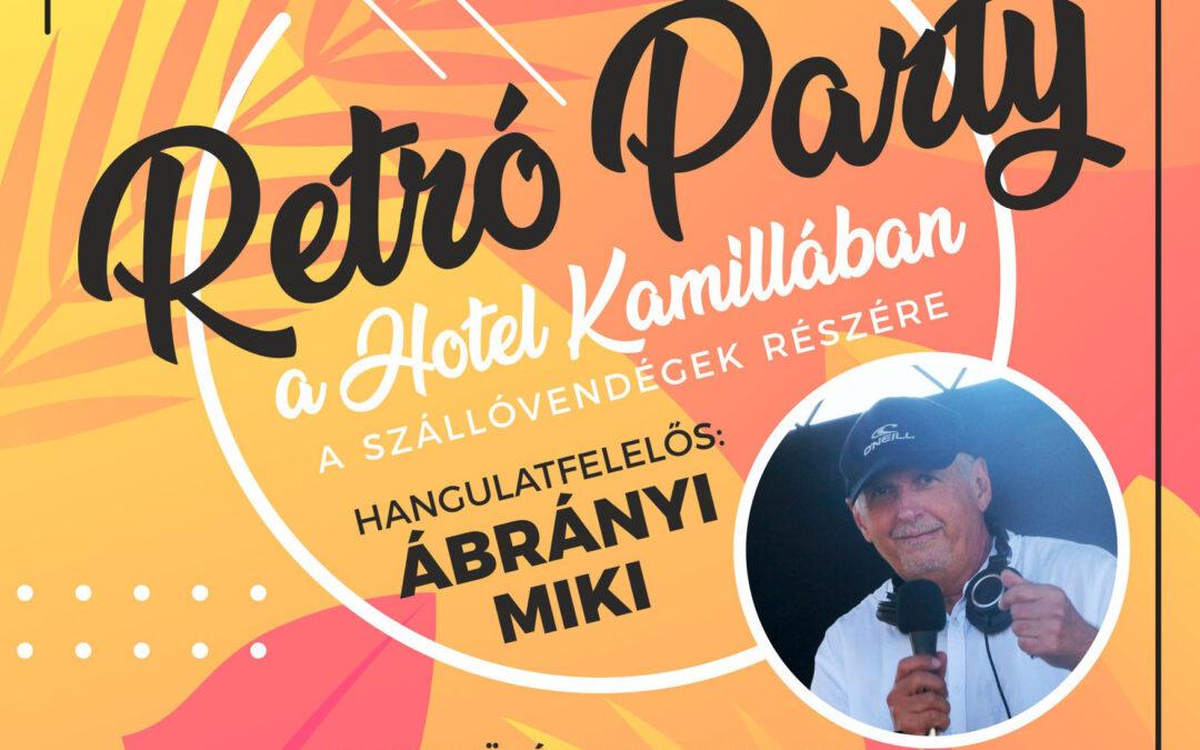 Retró Party a Hotel Kamillában